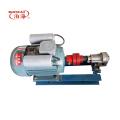 Mini and cheap stainless steel circular arc gear oil pump for high viscosity liquid chocolate