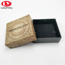 Изготовленные на заказ шкатулки бумажная коробка с логотипом