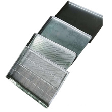 Food grade stainless steel tray for fruits meat spice and granules