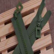 Promotional 10Inch Colouful plastic zipper for commodity