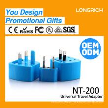 Longrich Universal Travel Adapters / adaptador de viagem UK / EU / US / AUS