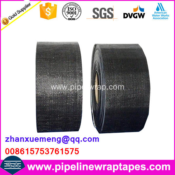 Polypropylene woven fiber adhesive tape for gas pipe