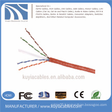 4 pair 305m UTP cat6 RJ45 lan cable network cable