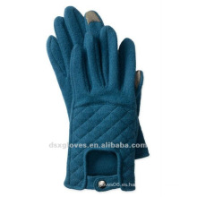 Driver touch touch screen guantes de mezcla de lana