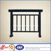Durable Concise Safety Wrought Iron Fence Dhfence-25 ()