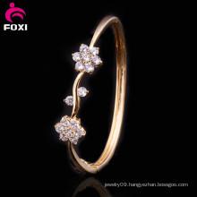 Wholesale CZ Gemstone Bracelet Synthetic Diamonds Bangle