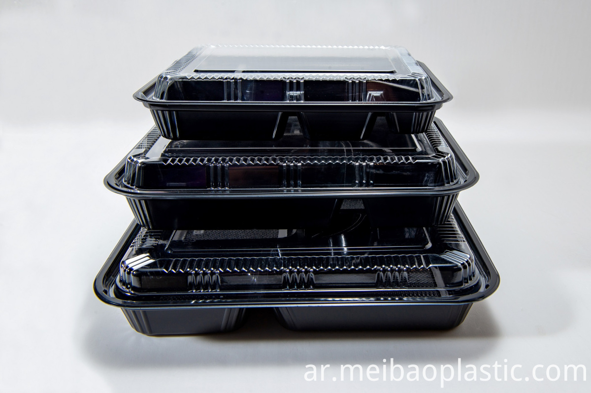 Disposable Lunch Box for multiple food
