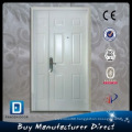 Mom and Son Double Hung Steel Decorated Toughened Glass Door