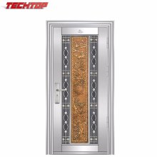 TPS-140 Modern House Frosted Glass Puertas de aluminio interiores Lowes