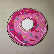 toalla de playa redonda donut