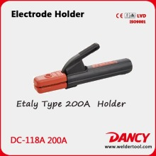 High quality electrode holder italy type 200A in Arc Welding code.DC-118A