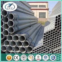 Tube en acier galvanisé