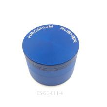 1p4c trituradora de humo de la cachimba de la amoladora de hierba de la aleación plateada cromo (ES-GD-011-XL)