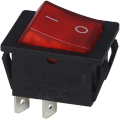 Dpst Light Dpst Light Rocker Switch com 4 terminais