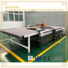 Mesa de corte de tecido para máquina de corte de confecção de roupas