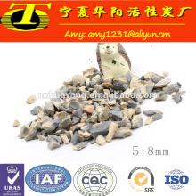Fábrica de bauxita calcinada na China