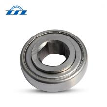Square bore bearings for agricultural machine