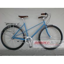 Bicicleta retro del vintage de la bicicleta de la ciudad de las mujeres 700 C