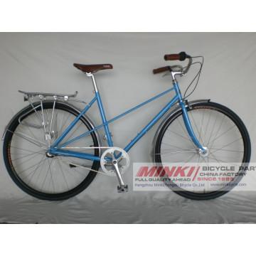 Bicyclette vintage à vélo vintage de la ville de 700 C pour femme