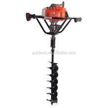 68cc 2200w Hand-Held Manual Fence Post Hole Digger Portable Hand Ground Hole Drill Auger For Earth Drilling