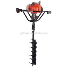 68cc 2200w Hand-Held manual de cerca escavador de buraco de posto de mão portátil de terra broca furador de broca para a terra de perfuração