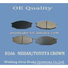 D166NISSAN 280 brake pad