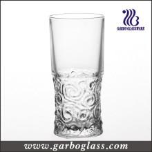 Copa de vidrio grabado Tumbler