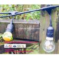 SLT-128 E26 14AWG lampe titulaire LED festons Bulb Ceinture chaîne Lumière intérieure ou extérieure pour noël