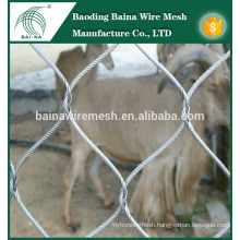 stainless fence security wire mesh fence panel manufacture