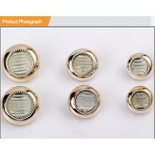 Bouton de résine de placage UV pour chemise ou manteau BA60374
