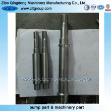 Water Gravel Pump Replaceable Chemical Pump Shaft for Machining