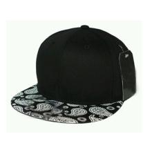 Projete sua própria aba de couro para chapéu Snapback