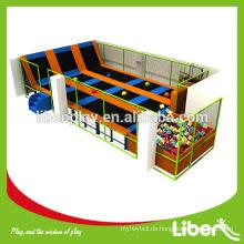 Kundenspezifisches Trampolin Roman Design Kinder England Indoor Trampolin