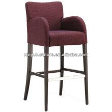 wooden design Bar chair with backrest XYH1046