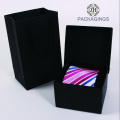Black Cardboard Custom Made Tie Box Set