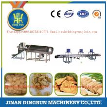 Máquinas de processamento de proteína de soja texturizada