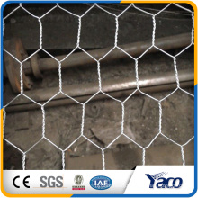 Yachao hot sale 19 gauge galvanized hexagonal wire mesh