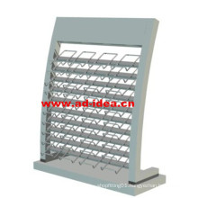Artificial Quartz Stone Metal Display Rack Stand for Exhibition