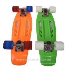 2016 new design street mini cruiser plastic skateboards for sale