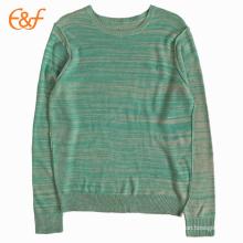 Suéter tejido de punto de Purl básico personalizado para hombres