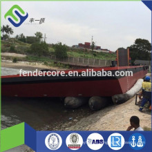 expand barrier Rubber floating pneumatic marine airbag