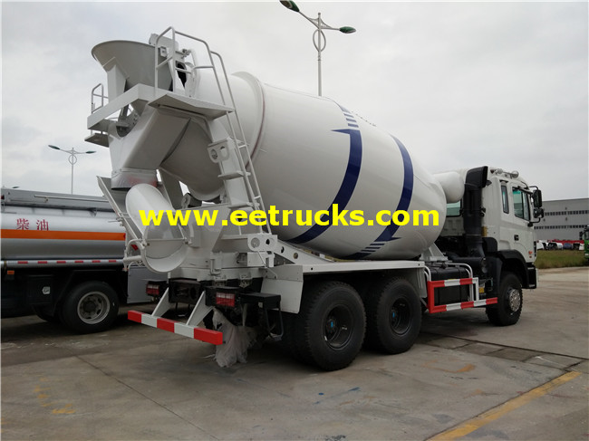 12m3 Concrete Mixing Trucks