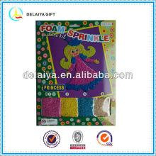 Mosaic EVA foam sprinkle kit for children