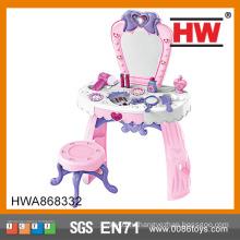 Высокое качество притворяться играть розовые игрушки пластиковые Dresser