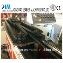 PE PP PVC Single Wall Corrugated Pipe Production Line