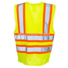 Yellow Reflective Class 2 Mesh Safety Vest