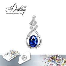 Судьба ювелирные изделия кристалл из Swarovski ожерелье винограда Кулон