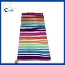 Printing Cotton Tassels Beach Towel (QHB7735)