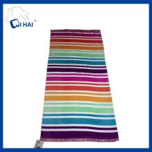 Impressão de borlas de algodão toalha de praia (qhb7735)