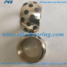АБ-2 sphercial простой бронзовый подшипник, масел сферические Втулки для метрических шарообразный куст, JM7-15 сферически простый подшипник